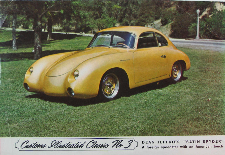 Dean Jeffries Custom Porsche 356a Carrera Gs Rod Custom Mag 10