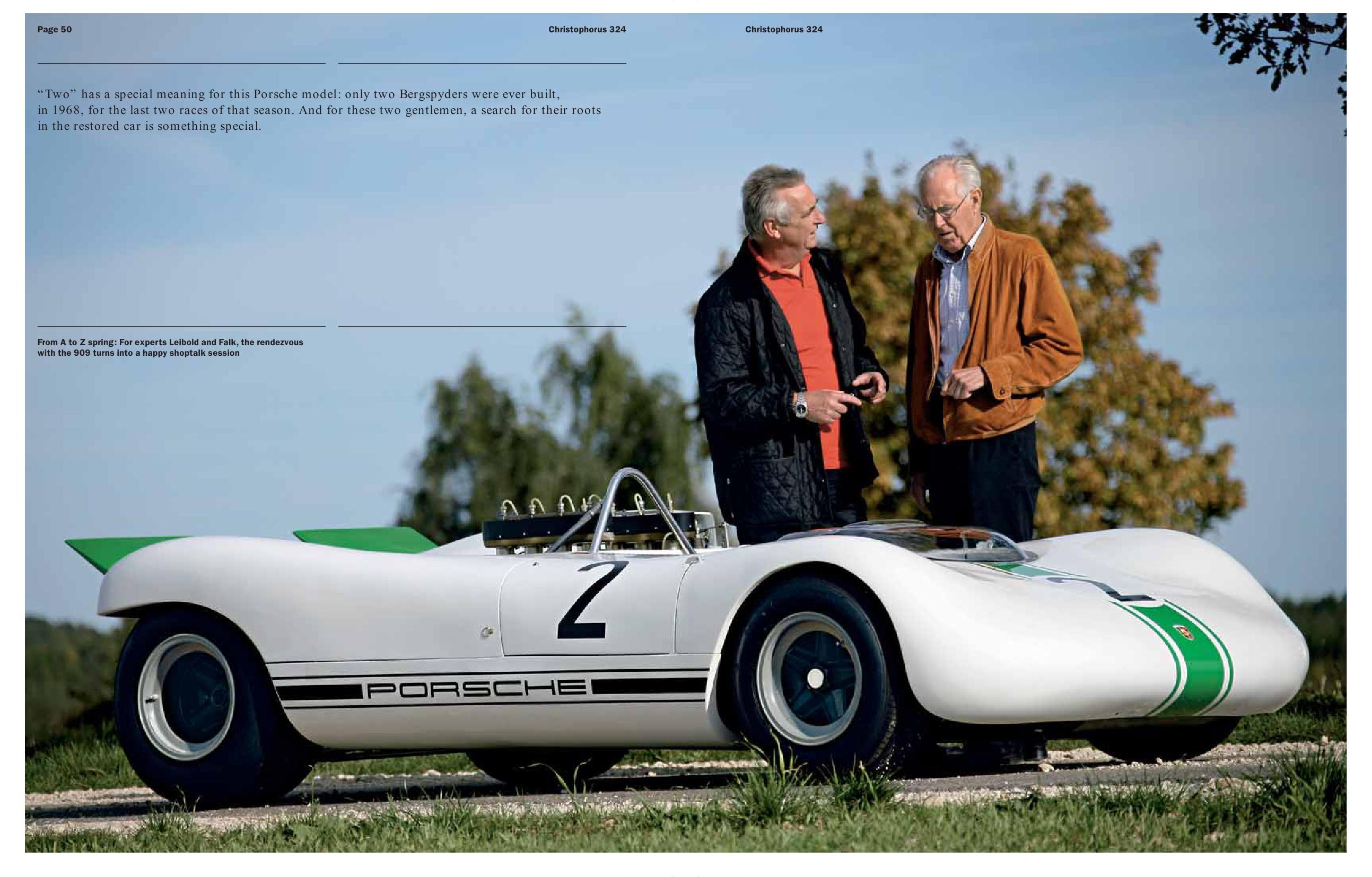 Porsche 909 Bergspyder Christophorus Mag Porsche Cars