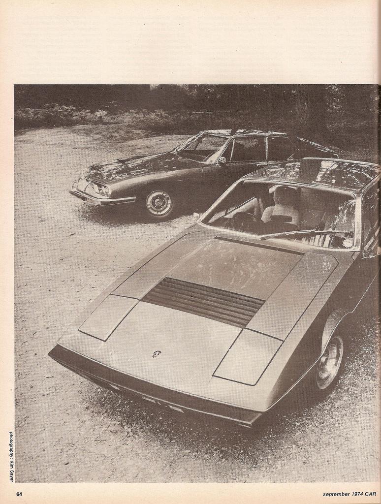 Porsche 911 vs. Citroen SM vs. Lotus Elite 502 (Car magazine, 09 ...