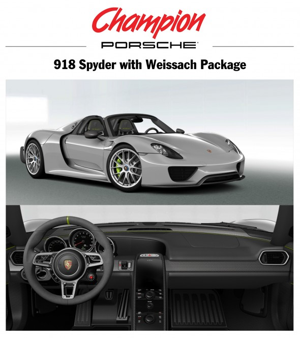 porsche 918 weissach package porsche cars history. Black Bedroom Furniture Sets. Home Design Ideas