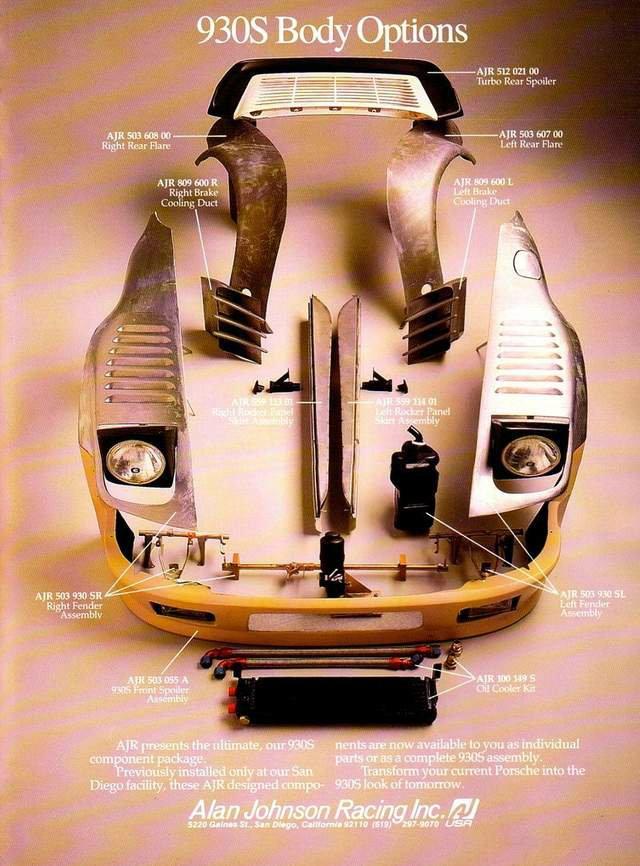 Porsche 930s Flachbau By Alan Johnson Performance