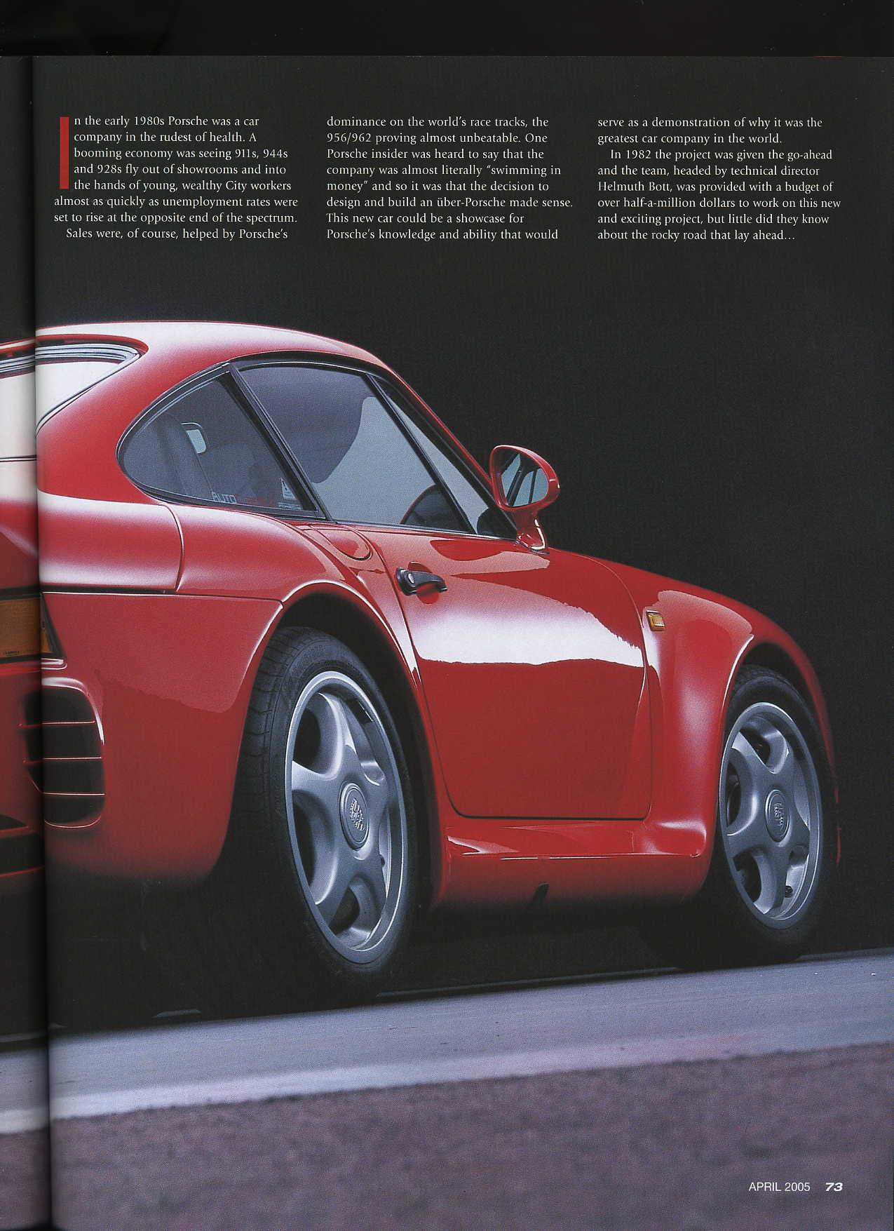 The Essential Guide Porsche 959 Gt Purely Porsche April