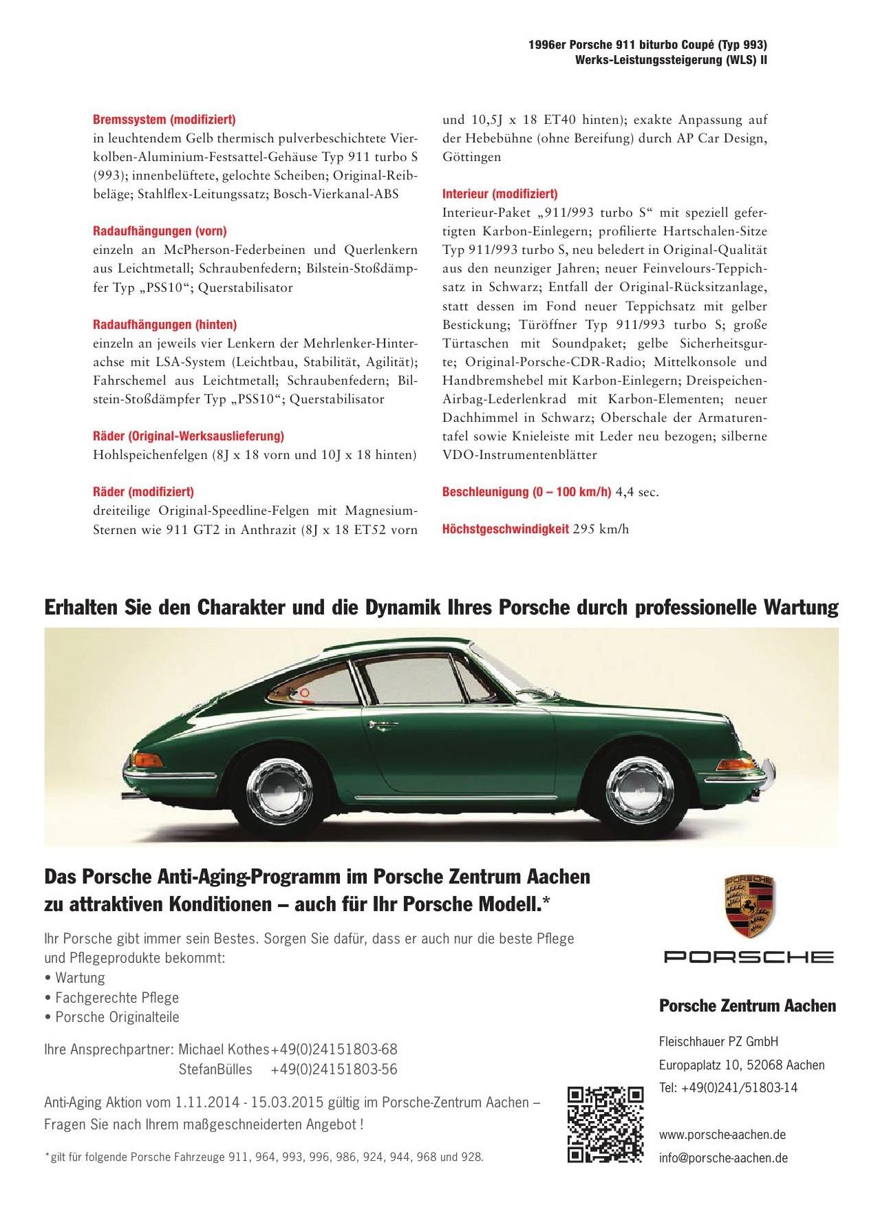 porsche 993 turbo s deutsch porsche cars history. Black Bedroom Furniture Sets. Home Design Ideas