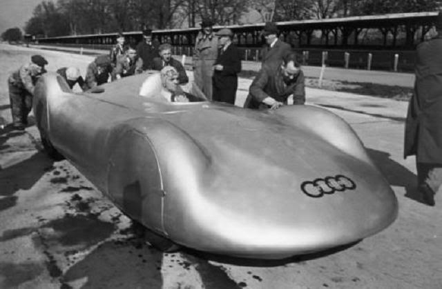 Auto Union World Speed Records Porsche Cars History