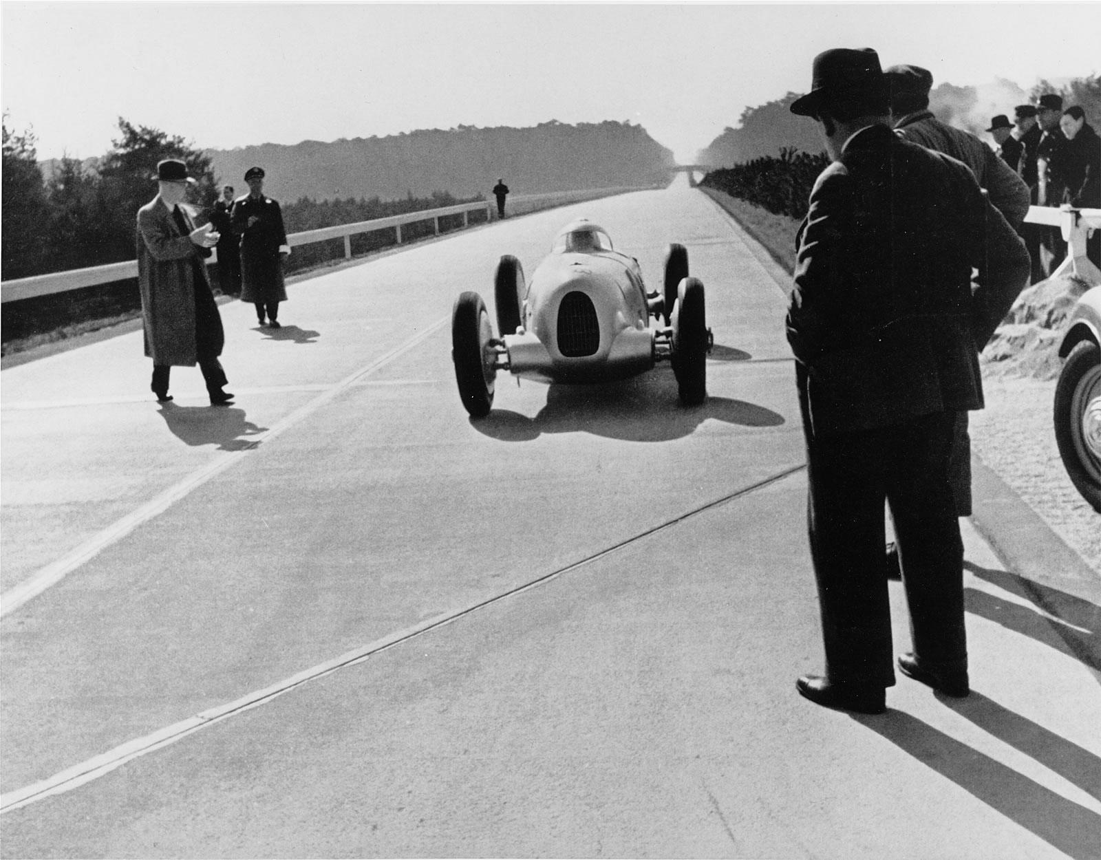 Auto Union World Speed Records Porsche Cars History