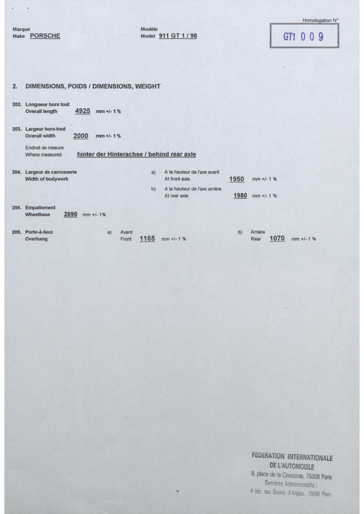 02 Cozy Prix D'une Porsche 911 Gt1 Cars Trend