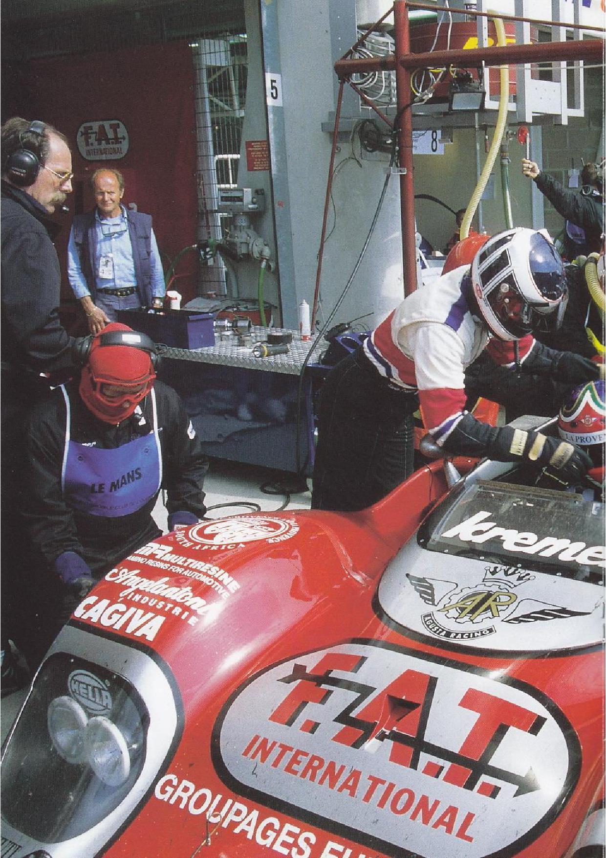 kremer racing in le mans 1970 1998 deutsch porsche cars history. Black Bedroom Furniture Sets. Home Design Ideas