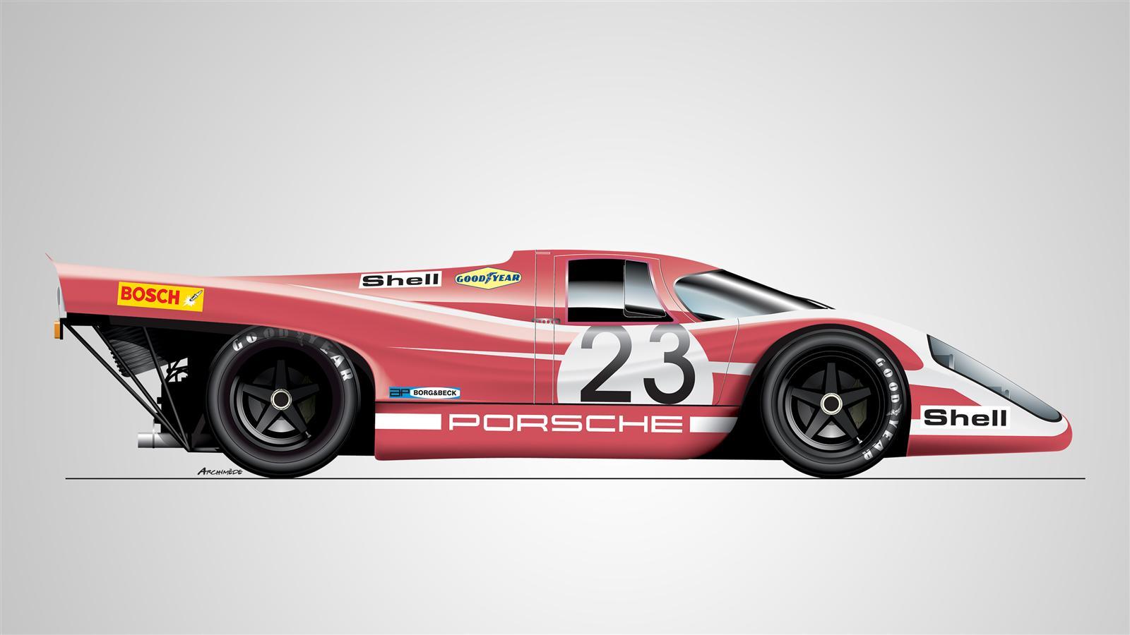 Porsche Le Mans 24 Hours Winner 1970 2017 Porsche Cars