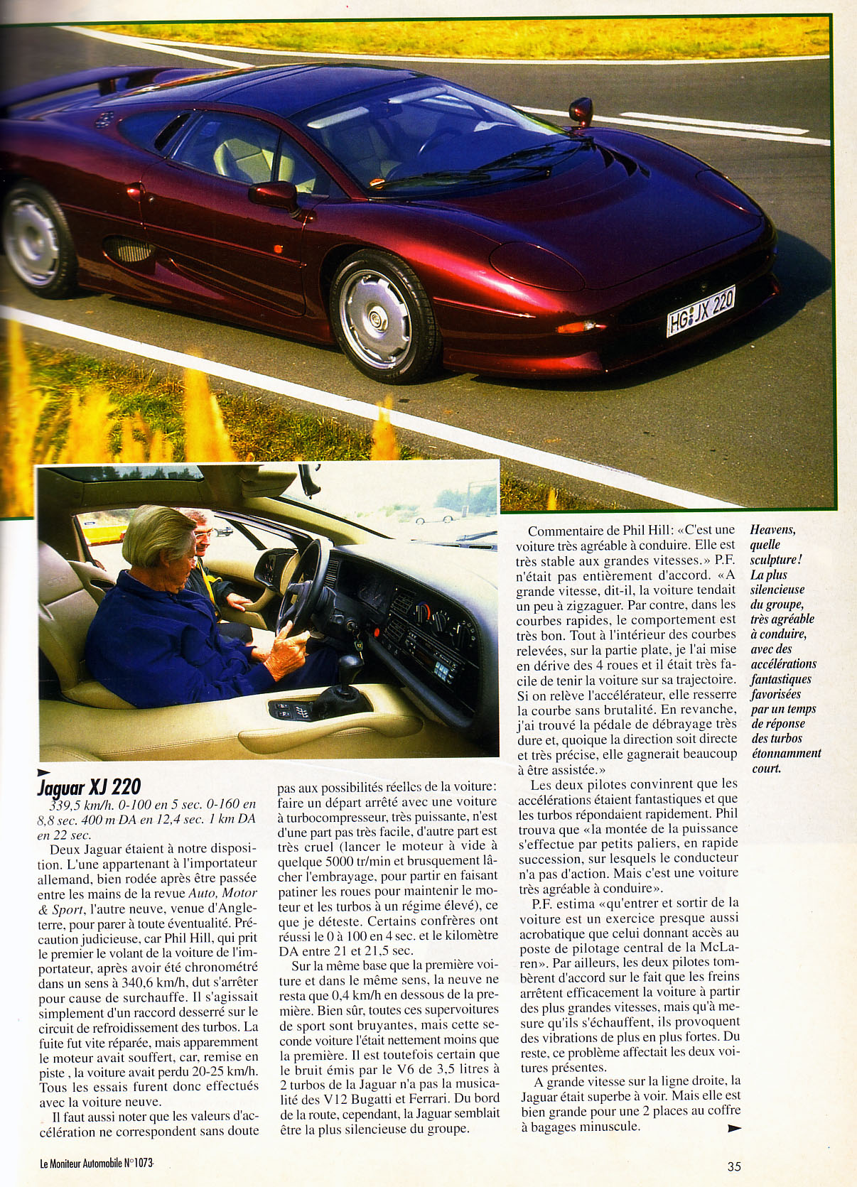 ruf btr 3 8 vs ferrari 456 gt vs jaguar xj220 vs bugatti eb 110 le moniteur automobile mag fr. Black Bedroom Furniture Sets. Home Design Ideas