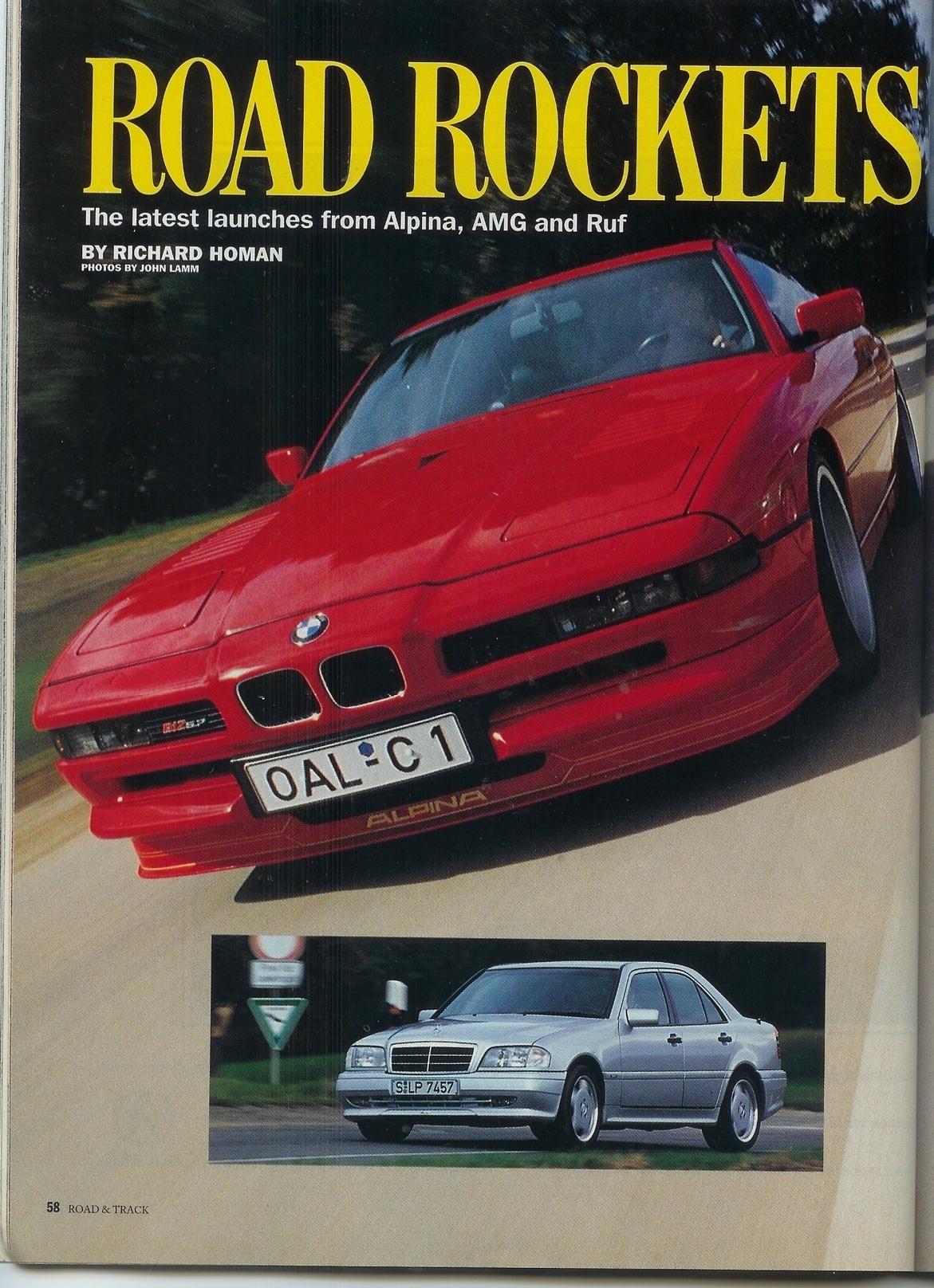 Alpina Porsche Cars History
