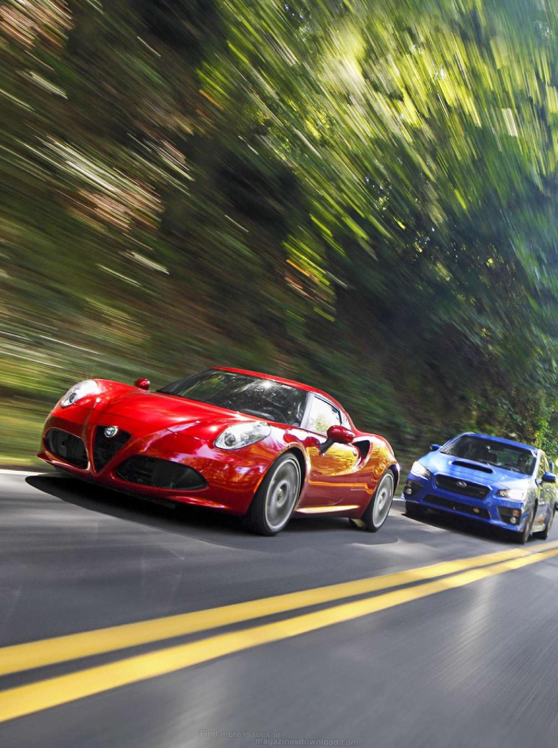 Wrx Vs Gti >> Porsche 991 GT3 vs Alfa-Romeo 4C, BMW M235, M3, Chevrolet ...