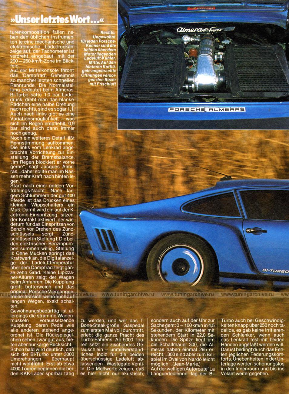 Porsche 930 Almeras 3 3biturbo Rallye Racing Mag 05