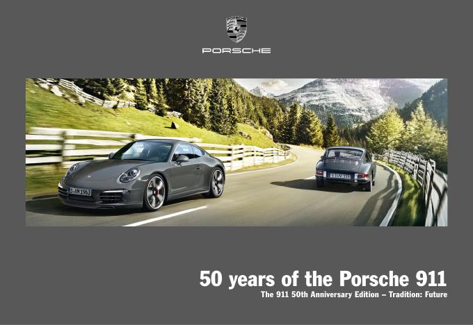 Рекламный буклет Porsche 991 50th Anniversary Edition