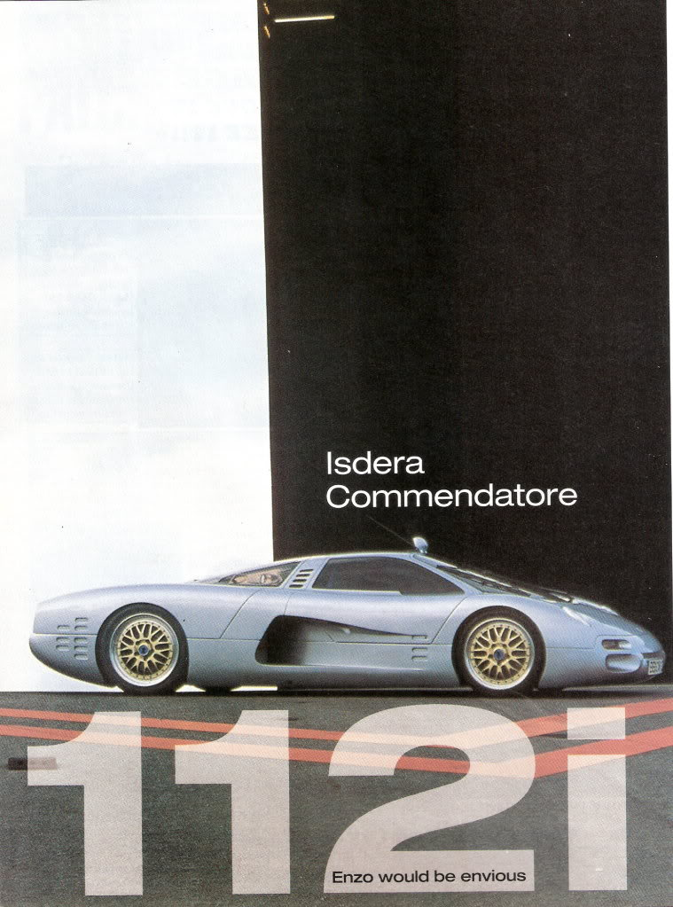 Isdera Porsche Cars History
