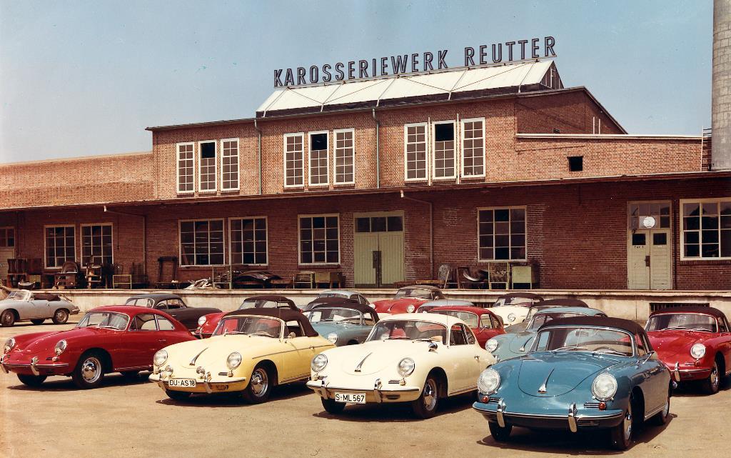 Reutter Porsche Cars History